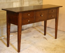 Bergerac 5 Drawer Side Table