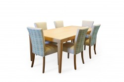 Brooklyn Table with Sienna Chairs