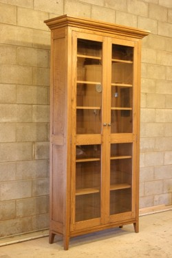 Freestanding Glazed Bookcabinet