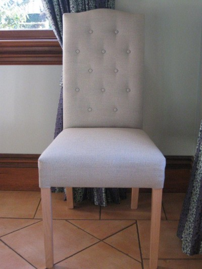 Highback Chair with Buttons