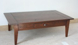 Marseille Coffee Table with Breadboard Ends