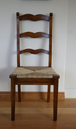 Marseille Ladderback with Seagrass Seat