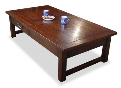 Bergerac Coffee Table with Mitred Top