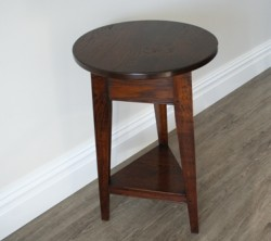 Oak Small Cricket Table