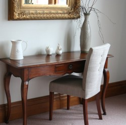 Loui Side Table and Sienna Button Back Chair