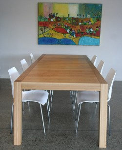 Splayed Leg Dining Table