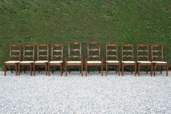 Seagrass seated Ladderbacks