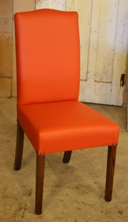 Highback Chair in Leather