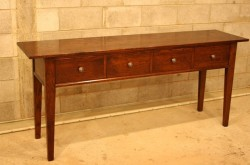 Marseille 4 Drawer Side Table
