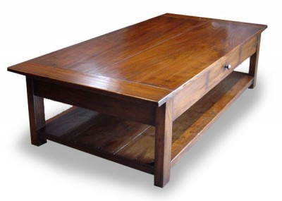 Bergerac Coffee Table with Rack